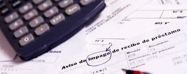 obligaciones tras emitir un pagare y su impago